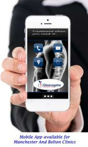 mobile app for deansgate osteopathic clinic