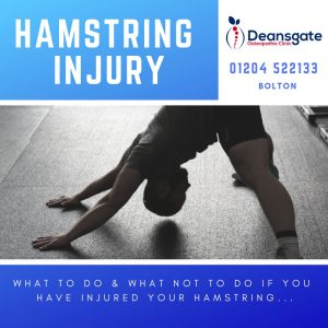 treatment for hamstring injury in Bolton