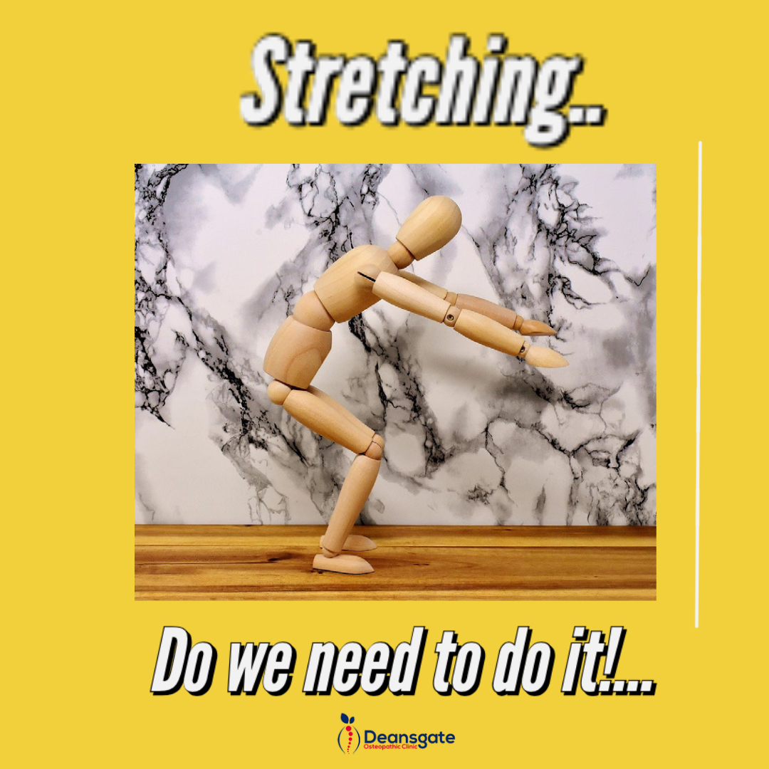 Do we need to stretch